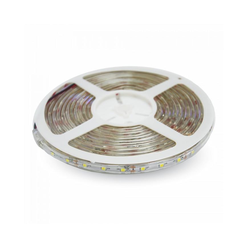 V-Tac VT-3528 Striscia LED SMD 3528 Impermeabile Giallo/Verde/Blu/Rosso 60 LED/metro in bobina da 5 metri