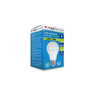 Confezione V-Tac VT-1853 Lampadina LED E27 10W Bulbo A60