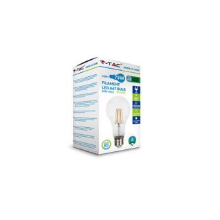 Confezione V-TAC VT-1981 Lampadina LED E27 10W Bulbo A67 Filamento