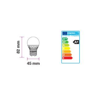 Disegno tecnico V-Tac VT-1879 Lampadina LED E27 6W Miniglobo G45