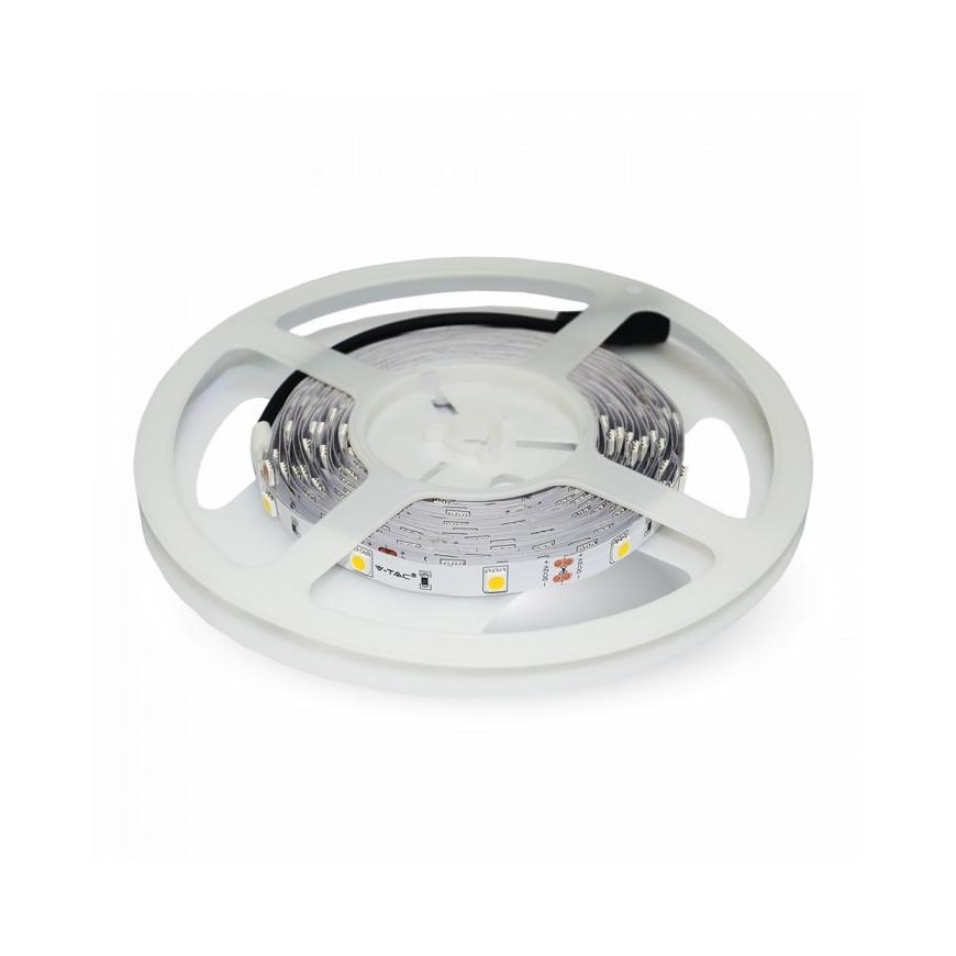 V-Tac VT-5050 Striscia LED SMD 5050 RGB 30 LED/metro in bobina da 5 metri
