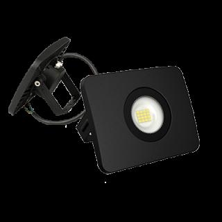 Faro Proiettore LED SMD 10W Ultra Sottile da esterno Nero 120°