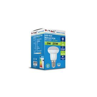 Confezione V-Tac VT-1861 Lampadina LED E14 3W Reflector R39