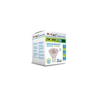 Confezione V-Tac VT-2886D Faretto LED GU10 7W SMD Spotlight Dimmerabile