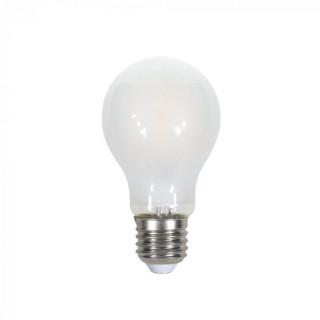 Lampadina LED E27 7W Bulbo A60 Filamento Effetto Ghiaccio