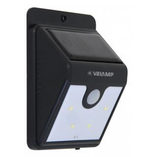 Velamp SL210 Lampada da Muro LED Dory 0,8W con Pannello Solare e Sensore Di Movimento