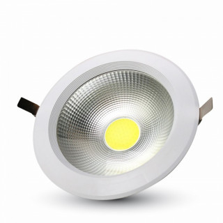 V-Tac VT-2625 Faretto Downlight LED da Incasso 20W COB Rotondo