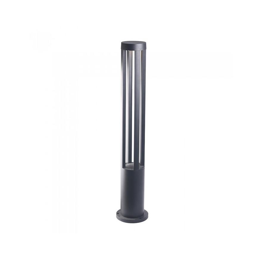 V-TAC VT-820 Lampada LED 10W da Giardino Con Fissaggio A Terra Colore Nero IP65