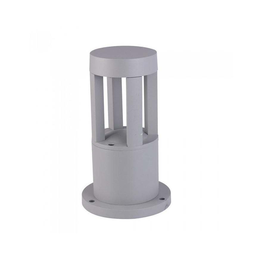V-TAC VT-830 Lampada LED 10W da Giardino Con Fissaggio A Terra Colore Grigio IP65