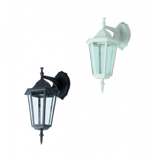 Portalampada da Giardino Wall LIGHT da Muro per Lampadine E27 mod. Facing-Down