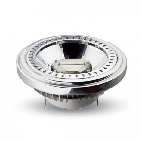 V-Tac VT-1110 Faretto Downlight LED G53 15W COB 20° AR111 da Incasso