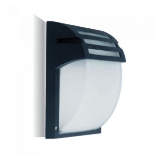 V-Tac VT-754 Portalampada Da Giardino Wall LIGHT Da Muro per Lampadine E27 IP44 Colore Nero