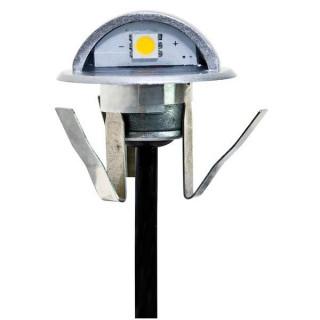 Life Punto Luce LED 0,4W Segna Passo Da Interramento In Zinco IP65