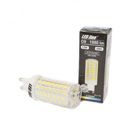 Led Line Lampadina LED G9 12W SMD Bulbo Ceramic