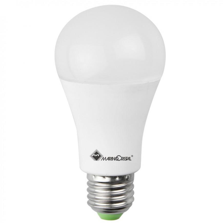 Marino Cristal - Lampadina LED E27 18W Bulbo A60 240° Dimmerabile