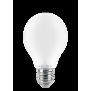 Century Lampadina LED E27 10W Bulbo Filamento Vetro Bianco
