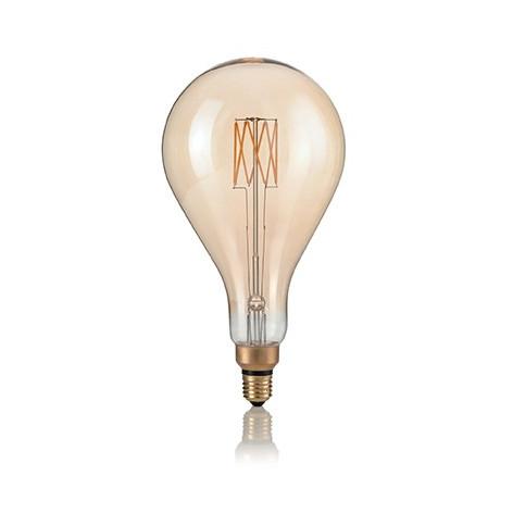 Ideal Lux Lampadina LED Vintage XL E27 8W Filamento Ambrata
