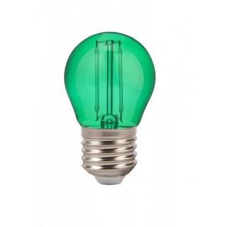 V-TAC VT-2132 Lampadina LED E27 2W Miniglobo G45 Filamento Colorata - Verde