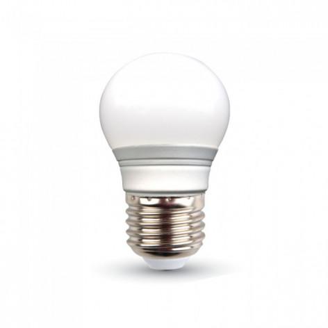 V-TAC VT-2053 Lampadina LED E27 3W Miniglobo G45