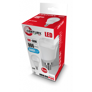 Century Lampadina LED E14 9W Bulbo A60