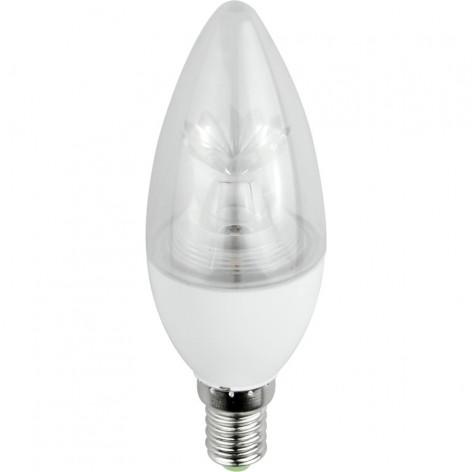 Marino Cristal Lampadina LED E14 7W Candela Serie STD