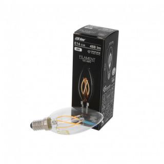 Led Line Lampadina LED E14 4W Candela Filamento in Grafene