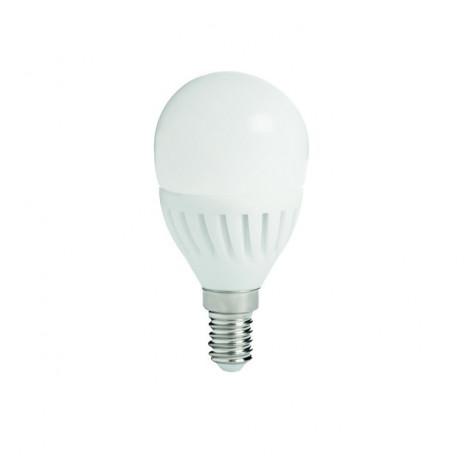 Kanlux Lampadina LED E14 8W Miniglobo P45 in Ceramica