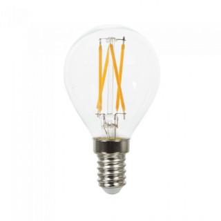 V-TAC VT-1996 Lampadina LED E14 4W Miniglobo P45 Cross Filamento