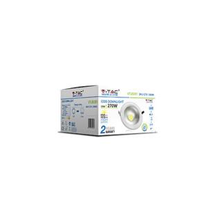Confezione - V-Tac VT-26301 Faretto Downlight LED da Incasso 30W 3.600 lm COB Rotondo