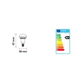 Disegno tecnico V-Tac VT-1861 Lampadina LED E14 3W Reflector R39