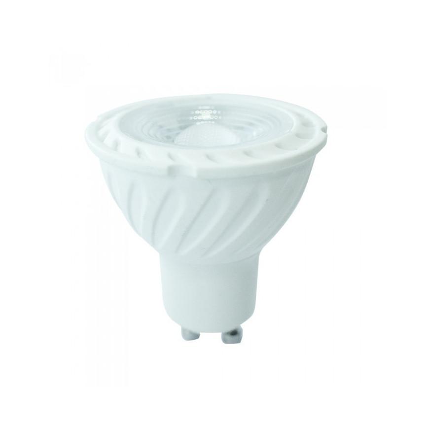 V-TAC PRO VT-247D Faretto LED GU10 6,5W SMD Spotlight Dimmerabile 110° con Chip Samsung
