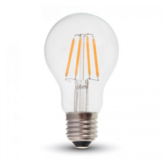 V-Tac VT-1885 Lampadina LED E27 4W Bulbo A60 Filamento