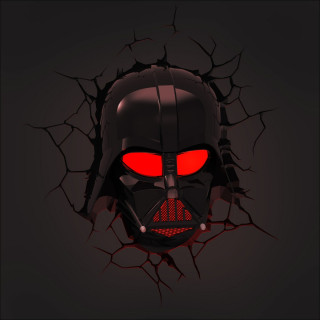 3DLightFX Star Wars Lampada LED 3D Darth Vader Deco Light luce