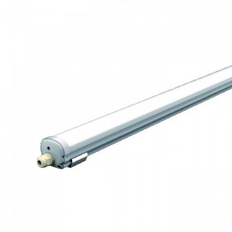Tubo LED Plafoniera 36W 120 cm Impermeabile 5d5e749e0c9ec