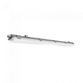 Plafoniera Singola Impermeabile con Tubo LED T8 G13 18W Lampadina 120 cm (tubo incluso)