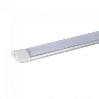 V-Tac VT-80404 Tubo LED Plafoniera Prismatico 40W 120 cm Raccordabile