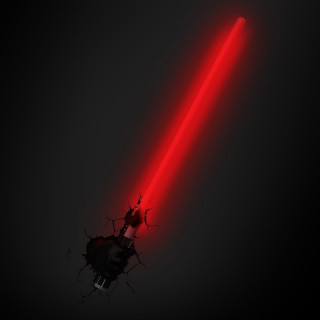 3DLightFX Star Wars Lampada LED 3D Spada Laser luce