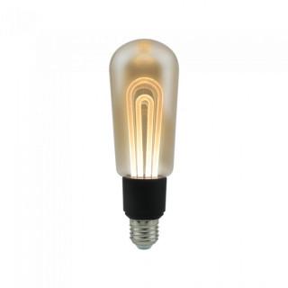 V-Tac VT-2235 Lampadina LED E27 5W Bulbo T60 Ambrata