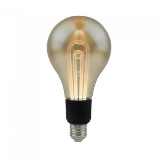 V-Tac VT-2235 Lampadina LED E27 5W Bulbo G100 Ambrata