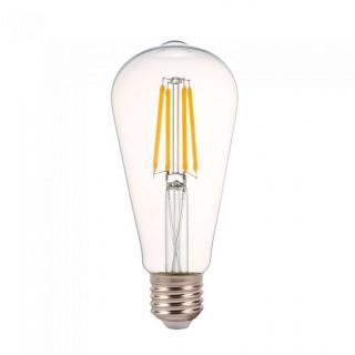 V-Tac VT-2105D Lampadina LED E27 4W Bulbo ST64 Filamento