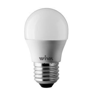 Wiva Lampadina LED E27 6W Miniglobo G45 200°