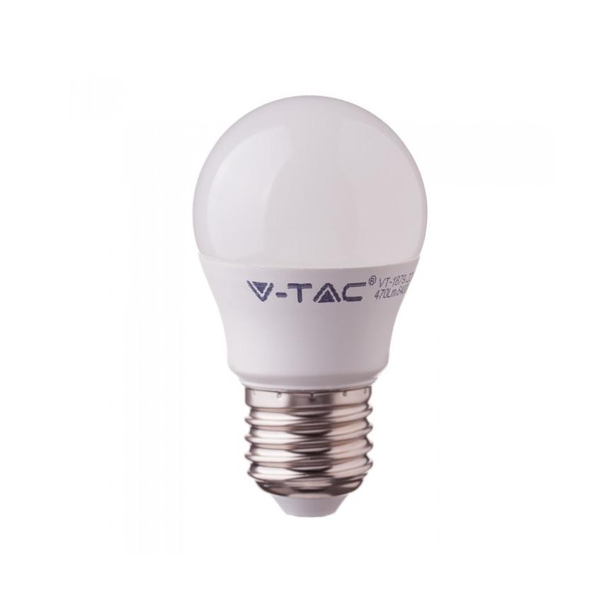Lampadina LED E27 5.5W Miniglobo TIPO 180°   5d63e0c20b515