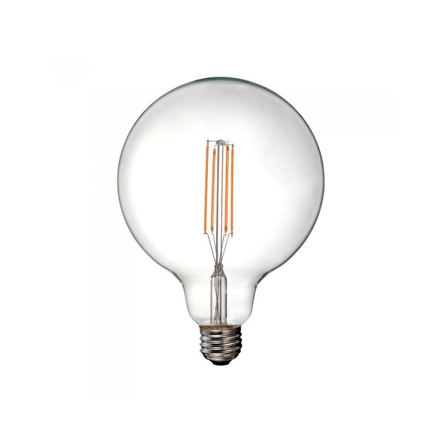 Lampadina LED E27 12.5W Globo G125 330° Filamento