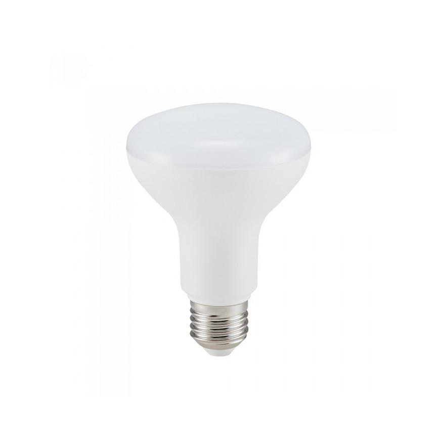 Lampadina LED E27 10W Reflector R80 120° con Chip Samsung