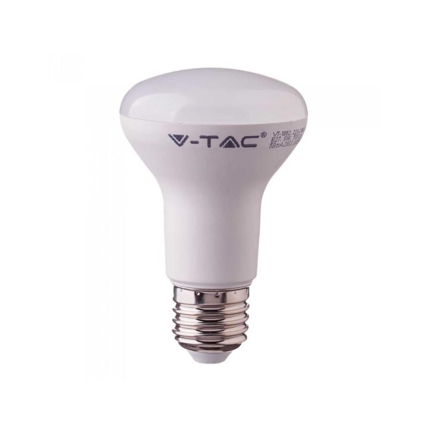 Lampadina LED E27 8W Reflector R63 120° con Chip Samsung