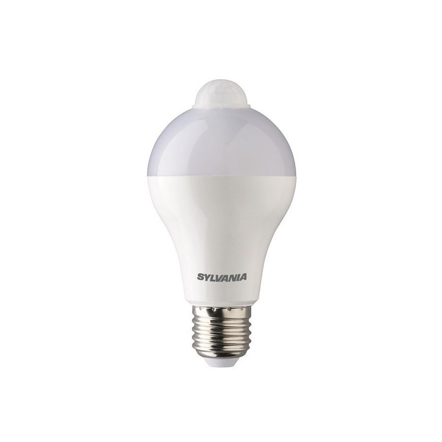 Sylvania Lampadina LED E27 12W Bulbo A65 con Sensore di Movimento