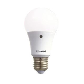 Sylvania Lampadina LED E27 8W Bulbo A60 con Sensore Crepuscolare