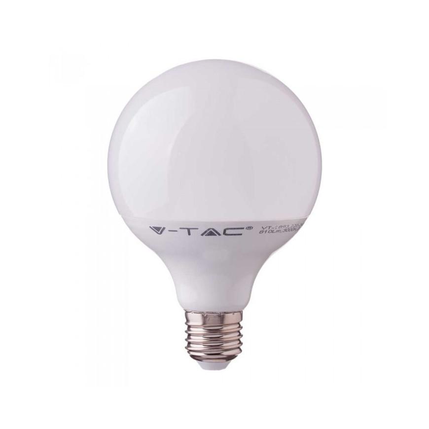 V-Tac VT-218 Lampadina LED E27 17W Globo G120 con Chip Samsung