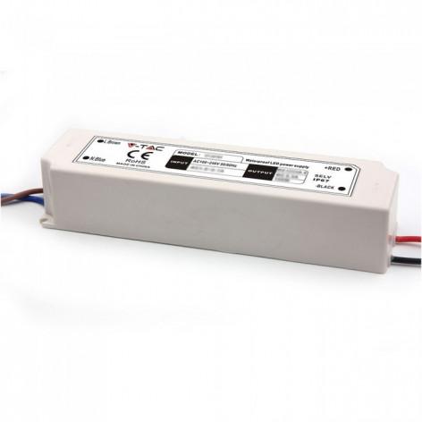 Alimentatore 100W Impermeabile IP67 a 1 Uscita Con Cavi a Saldare 12V
