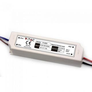 Alimentatore 60W Impermeabile IP67 a 1 Uscita Con Cavi a Saldare